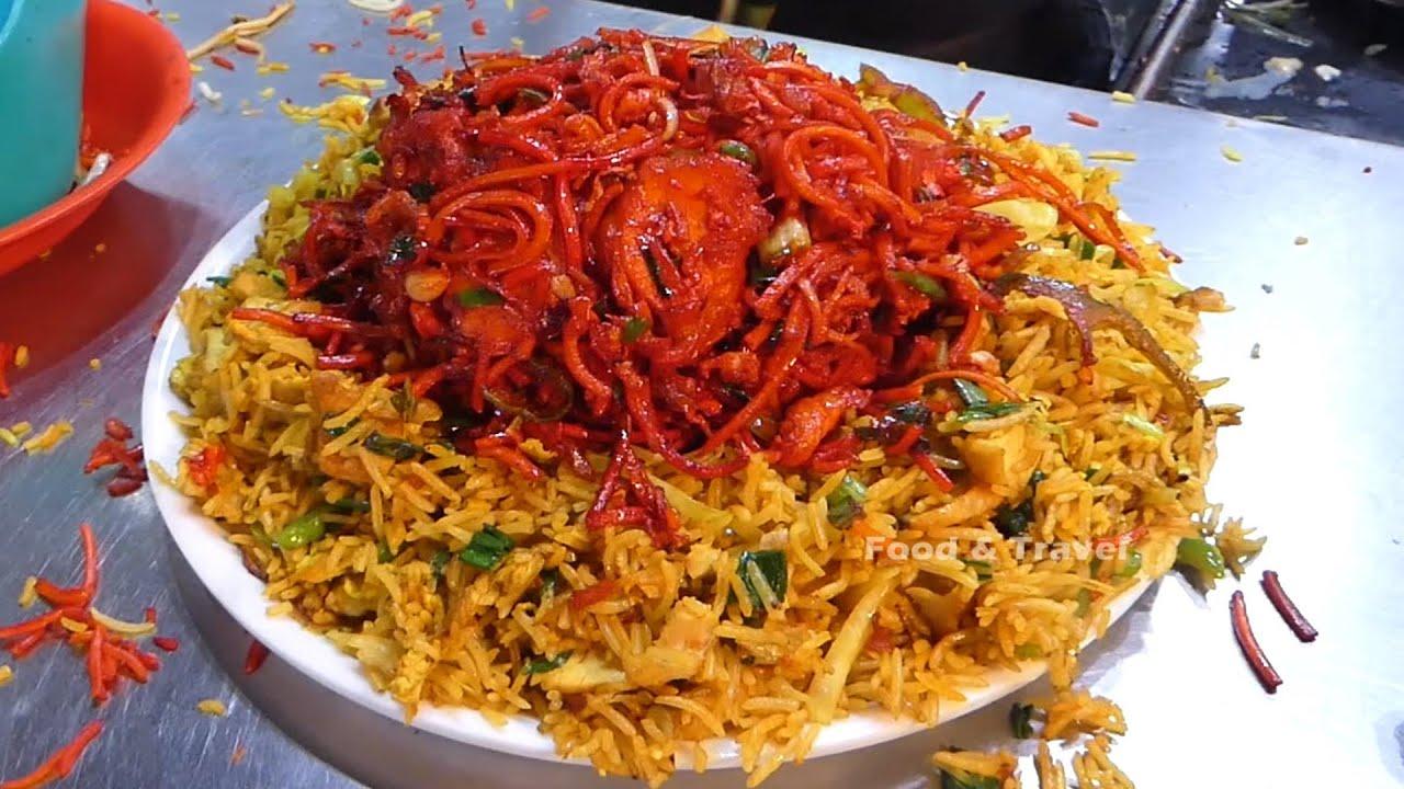Famous Fast Food Wala in Mumbai | DUM DUM CHINESE RICE | Mumbai Street Food | Indian Fast Foods