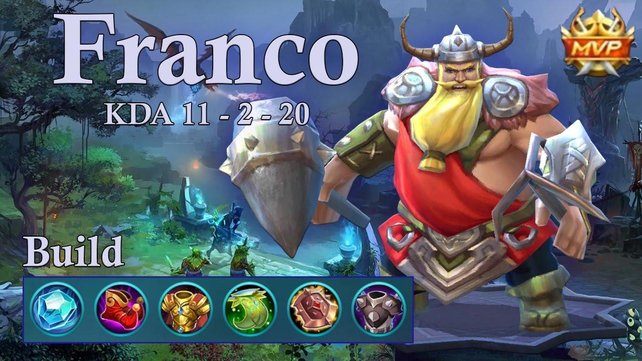 Mobile Legends Wallpaper Mobile Legends Franco MVP