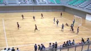 2009東医体ハンドボール 中位リーグ2回戦 旭川医大−防衛医大