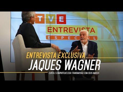 TVE Entrevista Especial - Bob Fernandes entrevista Jaques Wagner. #TVEEntrevistaEspecial