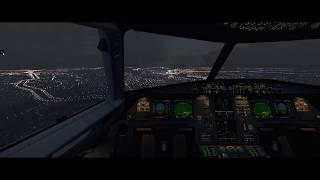 [X-Plane 11] Ultrawide Realistic Night Landing @ SBSP - A320 Jar