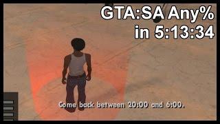 GTA:SA Any% in 5:13:34