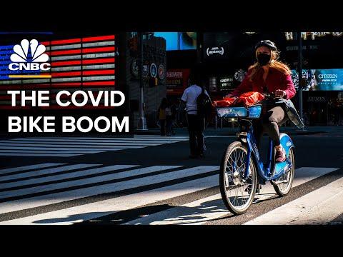 Why Covid-19 Caused A Bike Boom