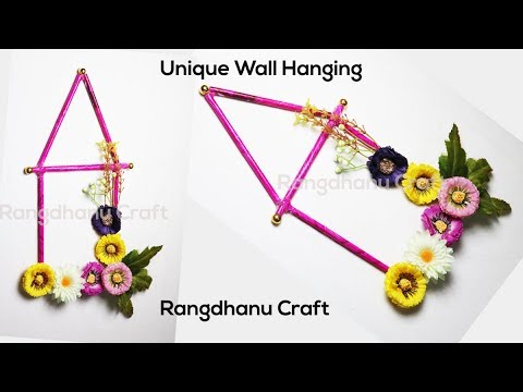 Unique Wall Hanging||Wall Hanging Ideas||wall decor diy ||Craft Ideas for Home Decor