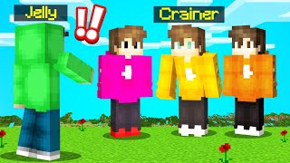 Playing GUESS WHO But EVERYONE IS CRAINER! (Minecraft)