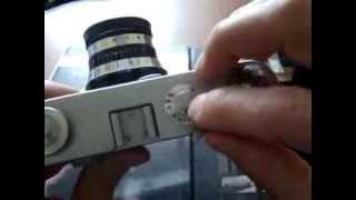 установка экспозиции на механическом фотоаппарате.фэд зенит и прочие камеры
