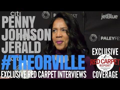Penny Johnson Jerald TheOrville on FOX ed at 35th PaleyFestLA TV Festival in Hollywood