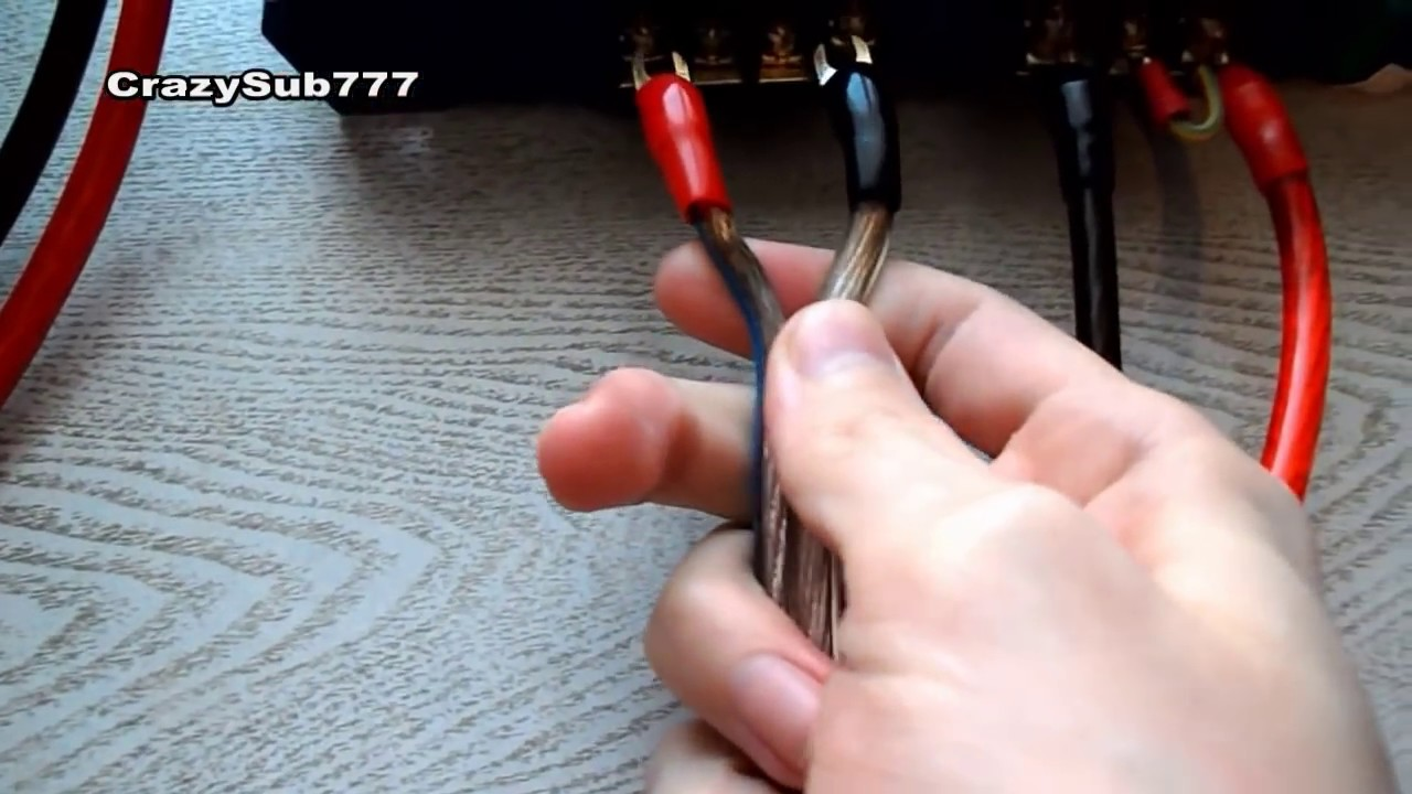 How to connect the amplifier in the car 69