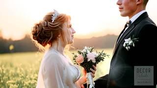 Оформление свадебного зала, флористика для Ильи и Екатерины