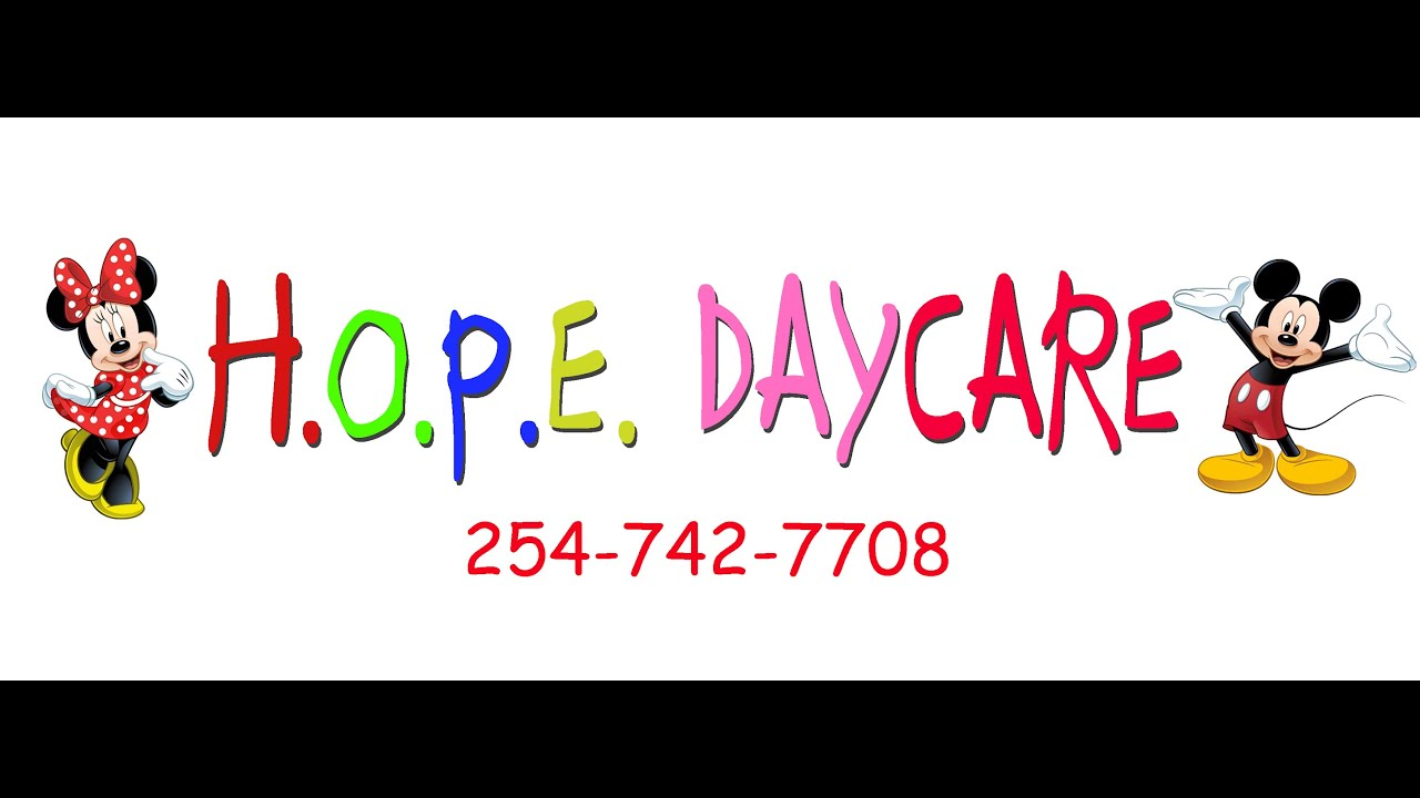 hope daycare advertisement hope daycare advertisement