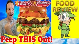 Carl's Jr.® | Hardee's® Most American Thickburger® Review! Peep This Out!