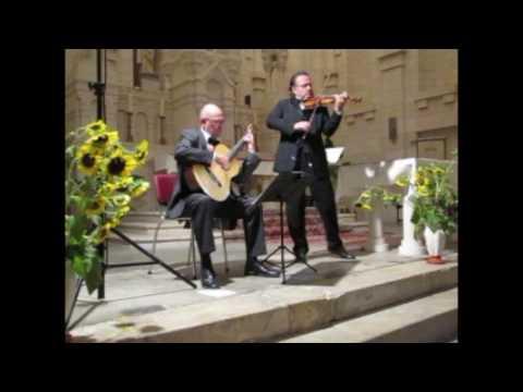 Largo & Allegro by F. M. Veracini played by Jochen Brusch & Finn Elias Svit.