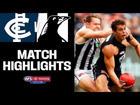 Traditional Rivals Put On A Thriller   Carlton V Collingwood Highlights   Round 8, 2019   AFL