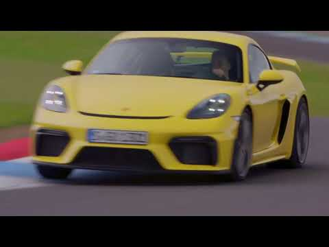 Porsche 718 Cayman GT4 2020 The Best Sports Car – Test Drive