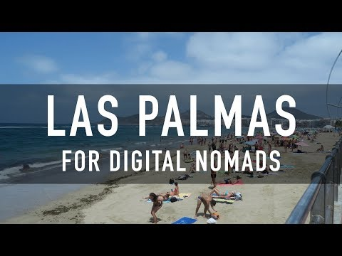 LAS PALMAS FOR DIGITAL NOMADS | PRICES, COWORKING, CAFES & MORE