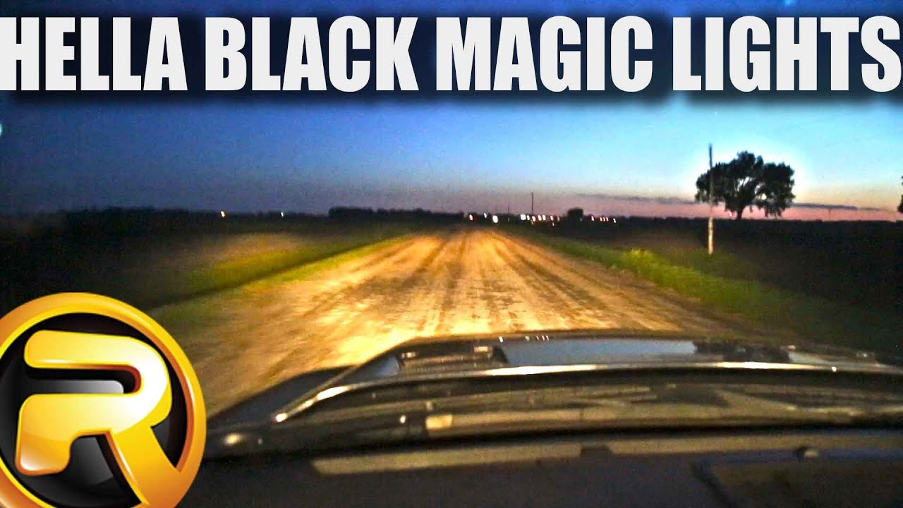 hella black magic driving lights kit fast facts [ 1280 x 720 Pixel ]