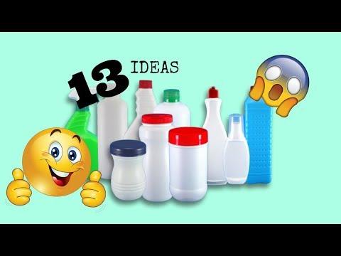 13 IDEAS para reciclar botellas plásticas/Best Out Waste