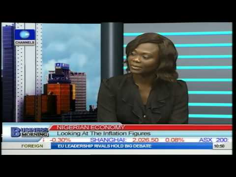 Business Morning: Looking At The Inflation Figures For April 2014. Pt2