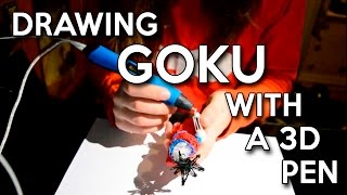 Building Goku with a 3D Pen