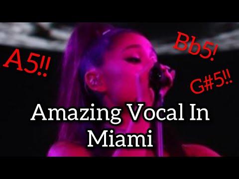 (vocal-showcase)-ariana-grande:-sweetener-tour-miami-amazing-vocal