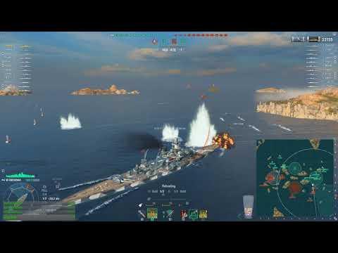 World of warships - Gneisenau
