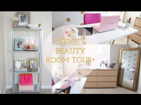 Office Beauty Room Tour Fall 2013 Charmaine
