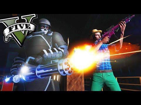 GTA V Online - EL MEGA JUGGERNAUT!! DESTRUCTOR!! - NUEVO DLC - NexxuzHD