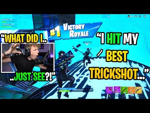 I met a GHOUL TROOPER in duos fill and he hit a TRICKSHOT in my game... (amazing)