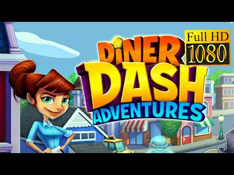 Diner DASH Adventures Game Review 1080p Official Glu