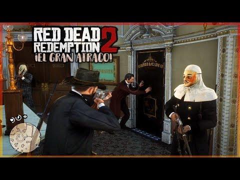 ¿EL CAIMAN LEGENDARIO? Y EL GRAN ATRACO! - RED DEAD REDEMPTION 2 #11 thumbnail