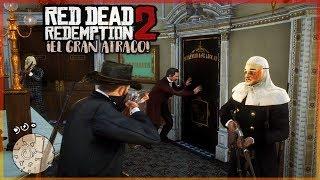 ¿EL CAIMAN LEGENDARIO? Y EL GRAN ATRACO! - RED DEAD REDEMPTION 2 #11
