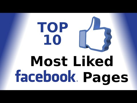 Top 10: Most Liked Facebook Pages 2016 _ MP