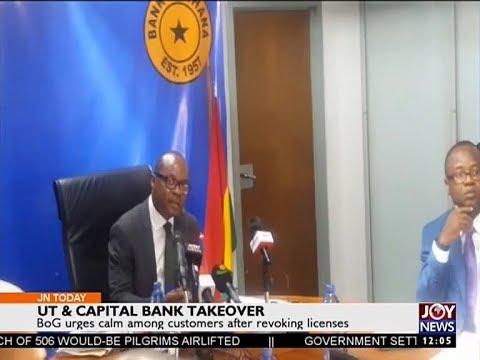 UT & Capital Bank Takeover - Joy News Today (14-8-17)