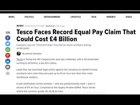 Feminist Parasites Leech off Tescos for £4bn