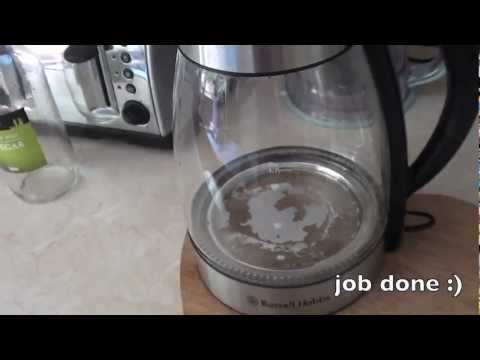 HOW TO De Limescale Your Kettle YouTube