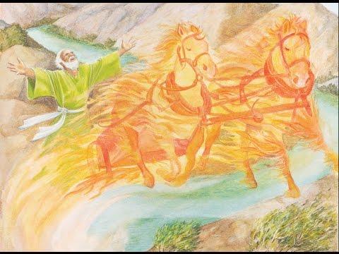 47 - אליהו עולה לשמים
