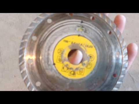 Ремонт или хороший диск по бетону!