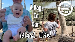 A day in the life   Isla life! what we do during low tide and back to fitness