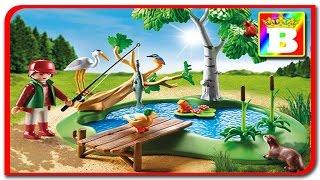 Playmobil Country 6816. La La pescuit lacul cu animale salbatice unboxing si review. Bogdan`s Show