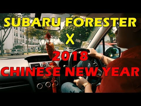 Spending Chinese New Year with a Subaru Forester 2.0i-P (2018 Malaysia)