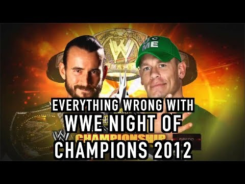 Episode #283: Everything Wrong With WWE Night Of Champions 2012