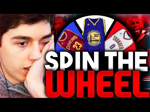 SPIN THE WHEEL OF NBA PLAYER NUMBERS! NBA 2K16 SQUAD BUILDER