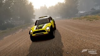 Extreme Offroad Silly Builds - 2014 MINI Monster Energy All4 Racing X-Raid (Forza Horizon 2)