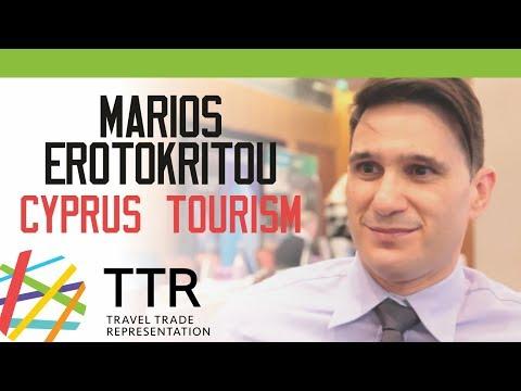 Marios Erotokritou, Cyprus Tourism, TTR Travel Industry Road Show 2018