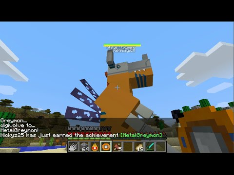 how to get a digimon in minecraft