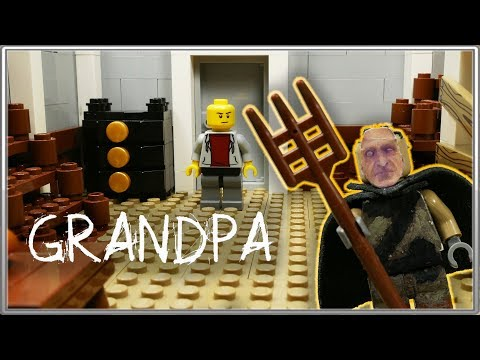 LEGO Самоделка - Дом Grandpa / Horror Game Grandpa / LEGO Moc