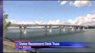 Deck Truss Design Recommended For New Bridge