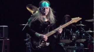 ULi Jon Roth THIRD COMING...Le National MONTREAL Canada 2013
