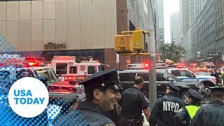 Helicopter crashes onto the roof of a New York City high rise near Times Square | USA TODAY