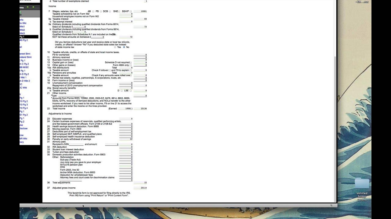 2013 VITA 4491W Exercise 2 Washington YouTube – Itemized Deductions Worksheet 2013